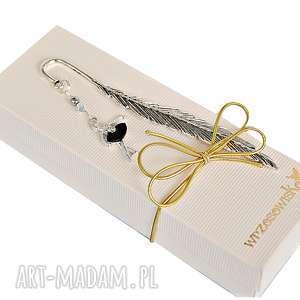 ręcznie robione zakładki elegancka baletnica - zakładka do książki