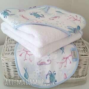 ręcznik niemowlęcy z kapturem myjka, recznik, ręcznik, kąpiel