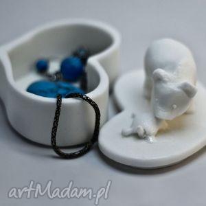 prezent na święta, pudełka puzderko niedźwiadek, pudełko, puzderko, pierścionki
