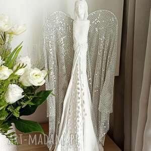 anioł miłości, stróż, figura anioła, talizman, dekoracja salonu, prezent