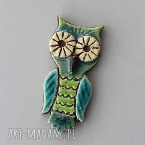 hand-made broszki soowa - broszka ceramiczna