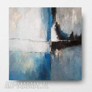 pejzaż-obraz akrylowy formatu 60/60 cm, pejzaż, kwadrat, akryl, obraz, płótno
