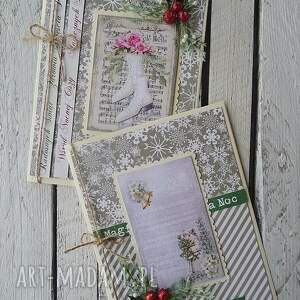kartka święta - majuhandmade, święta, scrapbooking, kartka