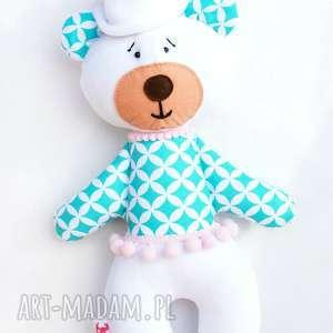miś maskotka przytulanka - niemowlę, wyprawka zabawka