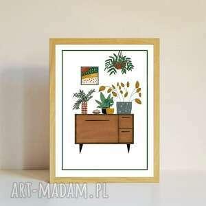 """Plakat """"rośliny"""" a4 plakaty muki design plakat, crazyplantlady"""