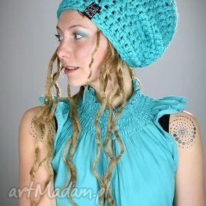DreadLove Mono 23, czapka, dredy, dready, zima, długa, ciepła