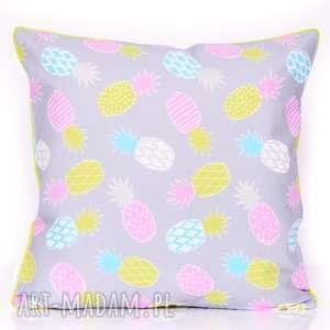 majunto poduszka hot ananas 50x50cm od majunto, ananas, ananasy