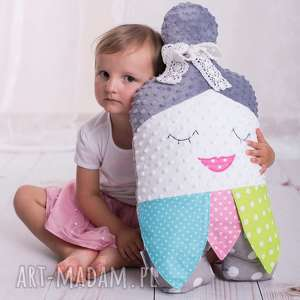 hand-made maskotki poduszka dziecięca babuszka