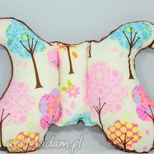 poduszka motylek colorful forest - poduszka, turystyczna, do, wózka, popielewska