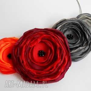 kwiatowa kolia - kwiaty, kolia, naszyjnik, kobieta, biżuteria, święta