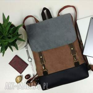 plecak unisex, na laptopa, damski plecak, do pracy, zamiast