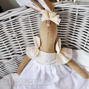 peppofactory pani królik maskotka z wyszytym imieniem, przytulanka, dziewczynki