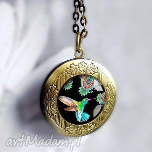 koliberek piĘkny medalion - sekretnik, sekrety, skrytka, antyczny, prezentowy