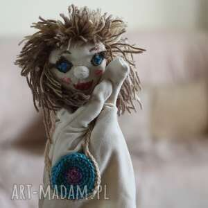 lalki lalka pacynka helcia z torebką, maskotka, zabawka, prezent