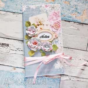 scrapbooking notesy romantyczny notes, romantyczny, vintage, notesy, róże
