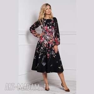 sukienka aniela total midi asteria, sukienka, midi