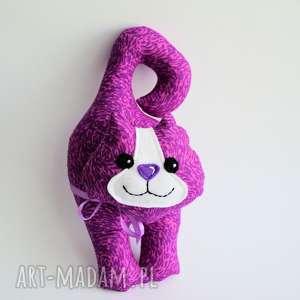 ręczne wykonanie maskotki kot klamkowy wiki - zamówienie dla tomasz