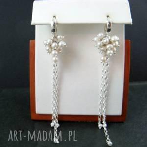 Perełki długie grona onyksela perły, perełki,