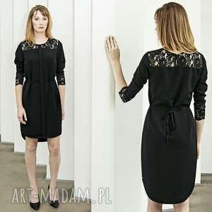 mała czarna z koronką, małaczarna, mała, czarna, koronka, sukienka sukienki