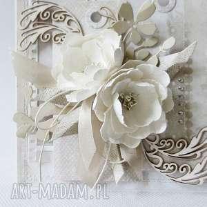 Ślubna elegancja w pudełku, życzenia, rocznica, gratulacje, ślub