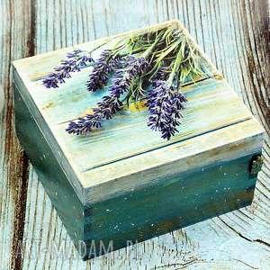 pudełka szkatułka- lawenda i sowa, lawenda, pudełko, szkatułka, na, biżuterię