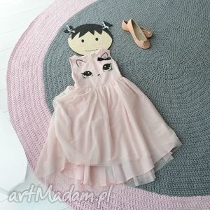 dywan 170 cm, dywan, scandi, różowy, dziewczynki