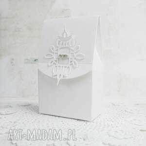 scrapbooking kartki pudełeczka okolicznościowe 10 szt, pudełka, podziękowania