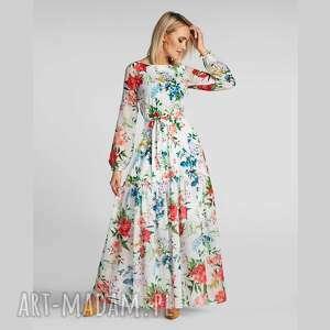 sukienki sukienka delia maxi ariana, maxi, długa