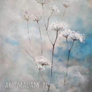 Trawy-obraz akrylowy formatu 30 40cm paulina lebida trawy