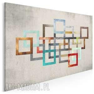 obraz na płótnie - łańcuch kolory 120x80 cm 26501, łańcuch