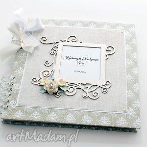 ręcznie wykonane scrapbooking albumy album na ślub - księga gości - podziękowania