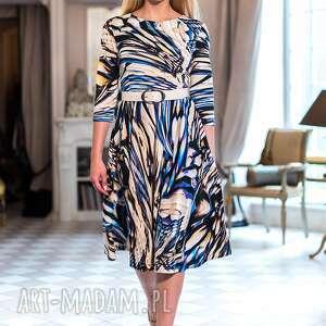święta, sukienka charlotte maxi, dzianinowa, wzorzysta, ciepła, kolorowa