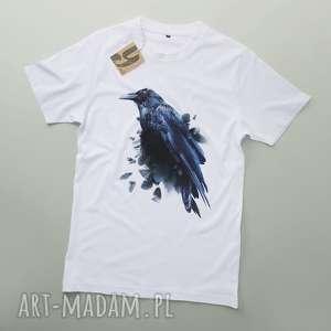 KRUK koszulka dla niego, tshirt, kruk, raven, ptaki