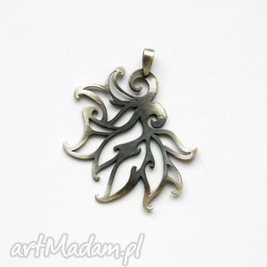 wisiorki płomyki - wisiorek, srebro, silver, zawieszka, venus, biżuteria
