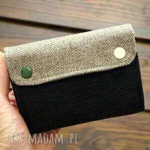 portfele materiałowy portfel - moro, portfel, portmonetka, prezent, kamo