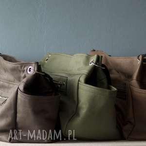 Duża torba Zielona , torba, duża, praktyczna, uniwersalna, lekka, wózek