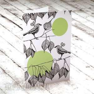 TWO LITTLE BIRDS... KARTECZKA, ślub, kartki, życzenia, nowożeńcy, rocznica, urodziny