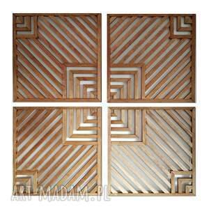 obraz z drewna, dekoracja ścienna - mozaika /27 2/, obraz, drewniany