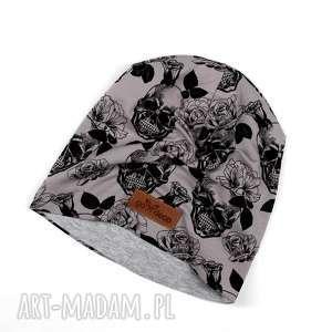 Prezent Ciepła czapka w czaszki beanie unisex, ciepła, czapka, beanie, prezent
