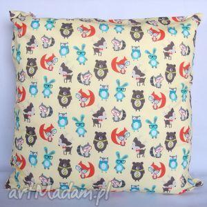 handmade pokoik dziecka poduszka w liski ozdoba piękny prezent