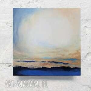 abstrakcja-obraz akrylowy formatu 40/40 cm, abstrakcja, kwadrat, obraz