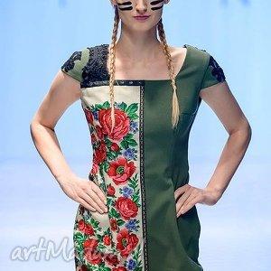 sukienka v Folk Design Aneta Larysa Knap góralska ,