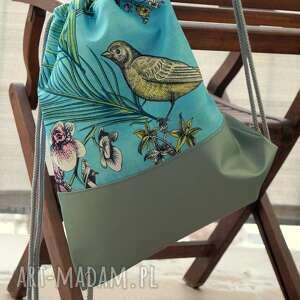hand-made plecak / worek - koliber