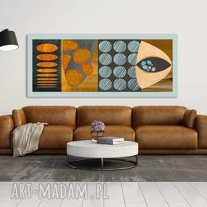 Obraz na płotnie - 150x60cm ABSTRAKCJA 0223 wysyłka w 24h, obraz, wydruk, abstrakcja