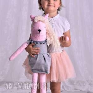 przytulanka dziecięca różowa sarenka, pomysł-na-prezent, dekoracja-pokoju