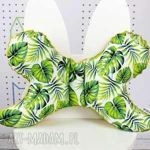 dla dziecka motylek - poduszka antywstrząsowa tropikalne liście
