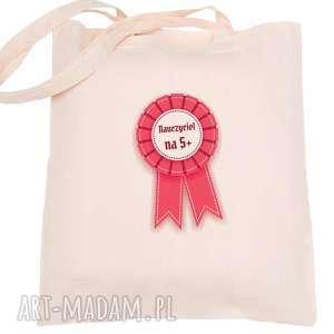 handmade torba eko na zakupy dla nauczyciela nauczyciel 5 - dzień