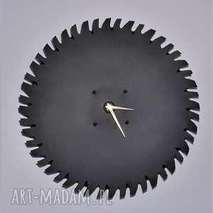 Designerski, unikalny, oryginalny, indywidualny zegar ścienny handmade z metalowej