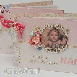 handmade scrapbooking albumy album pamiątka chrztu świętego