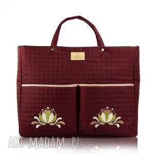 farbotka torebka farbaby 103, pikowana, pojemna, elegancka, podróżna